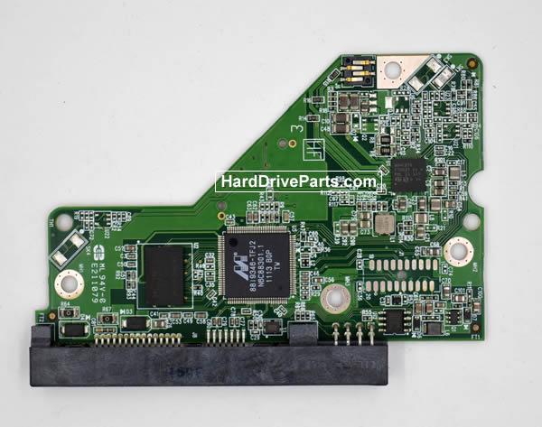 Western Digital WD5000AZRX Festplatten Ersatzteile Platine 2060-771824-000