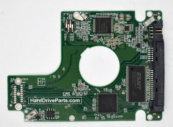 Western Digital WD20NPVX Festplatten Ersatzteile Platine 2060-771960-000