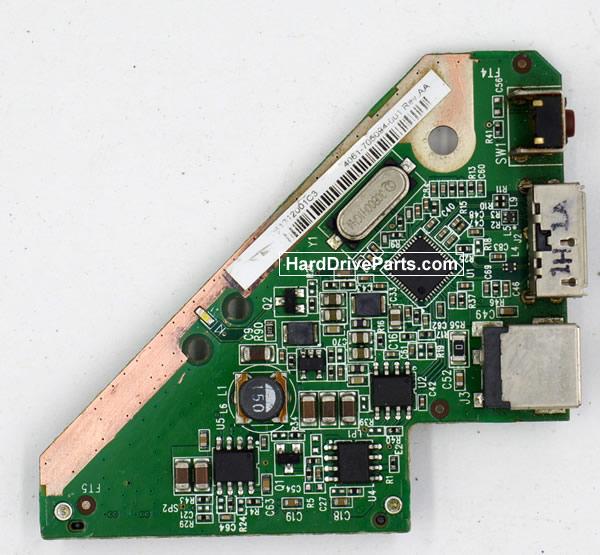 Western Digital WDBACW0020HBK Festplatten Ersatzteile Platine 4060-705094-001