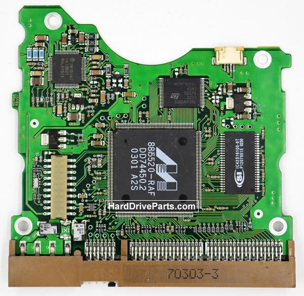 Samsung SV1204H Festplatten Ersatzteile Platine BF41-00058A