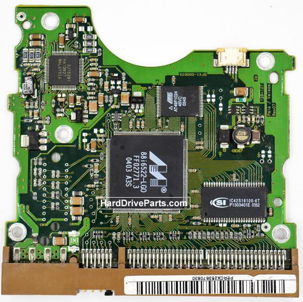 Samsung SP1604N Festplatten Ersatzteile Platine BF41-00067A