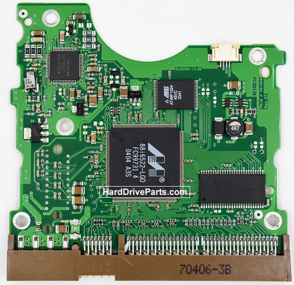 Samsung SP1614N Festplatten Ersatzteile Platine BF41-00067B