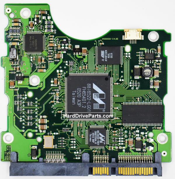 Samsung SP1213C Festplatten Ersatzteile Platine BF41-00069A