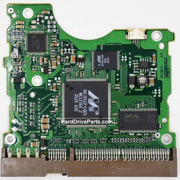 Samsung SP1203N Festplatten Ersatzteile Platine BF41-00076A