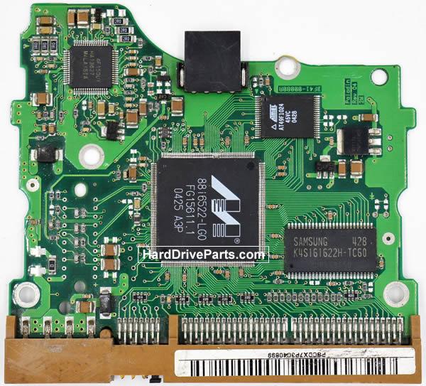 Samsung SP0802N Festplatten Ersatzteile Platine BF41-00080A