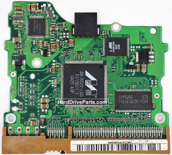 Samsung Festplattenelektronik PCB BF41-00080A