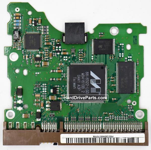 Samsung SP0411N Festplatten Ersatzteile Platine BF41-00082A