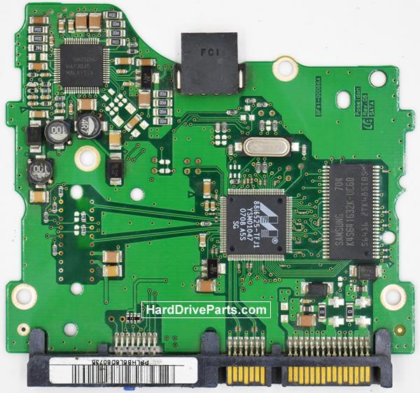 Samsung SP2004C Festplatten Ersatzteile Platine BF41-00086A