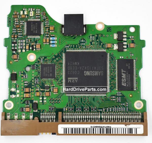 Samsung SP0822N Festplatten Ersatzteile Platine BF41-00087A