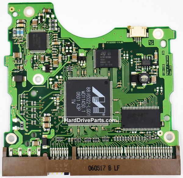 Samsung SP1203N Festplatten Ersatzteile Platine BF41-00091A