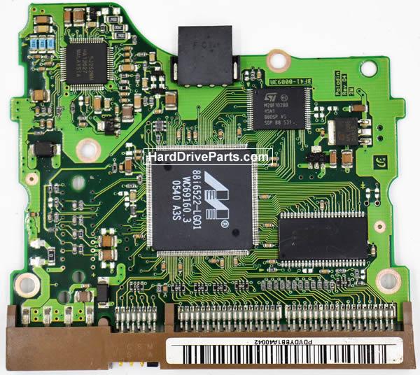 Samsung Festplattenelektronik PCB BF41-00093A