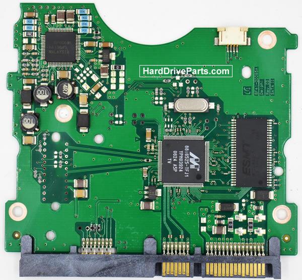 Samsung HD160JJ Festplatten Ersatzteile Platine BF41-00095A