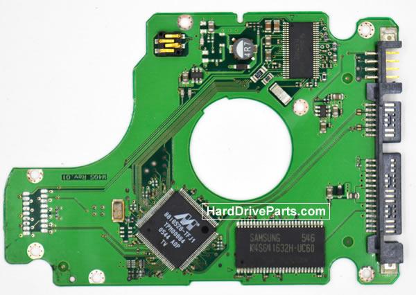 Samsung HM080JI Festplatten Ersatzteile Platine BF41-00098A