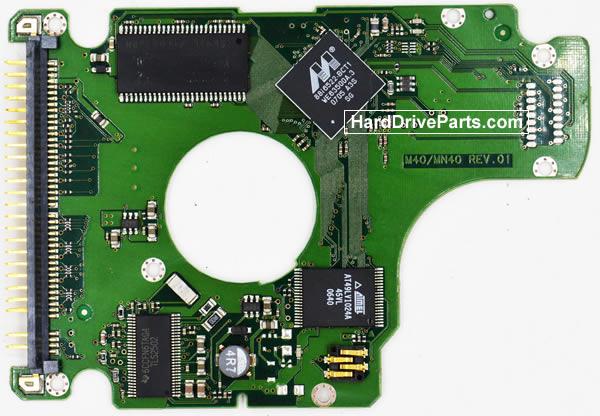 Samsung MP0402H Festplatten Ersatzteile Platine BF41-00101A