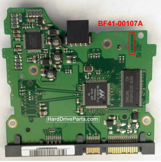 Samsung Festplattenelektronik PCB BF41-00107A