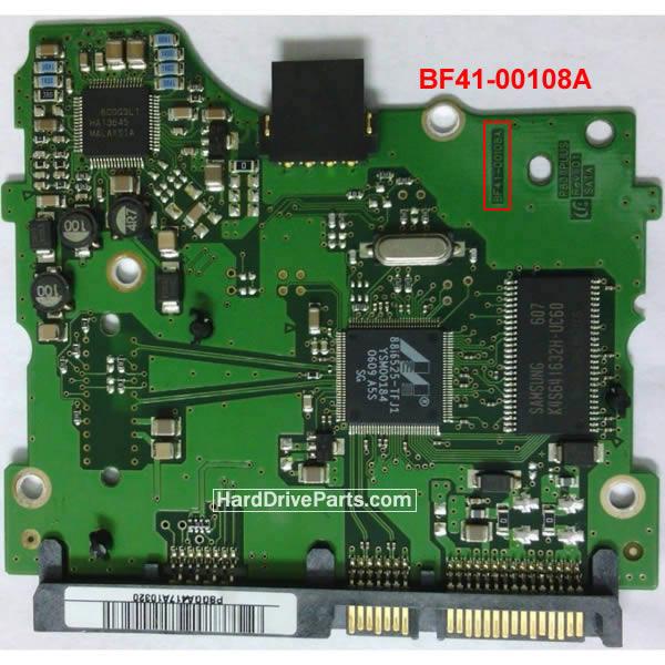 Samsung Festplattenelektronik PCB BF41-00108A