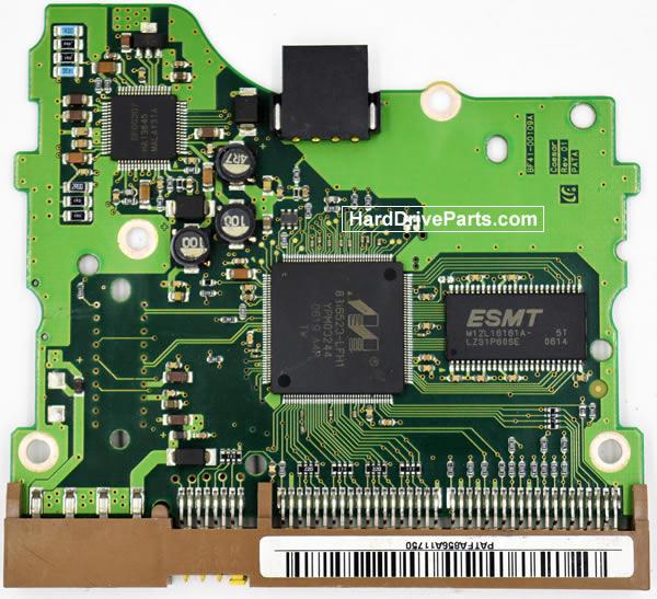 Samsung SP0842N Festplatten Ersatzteile Platine BF41-00109A