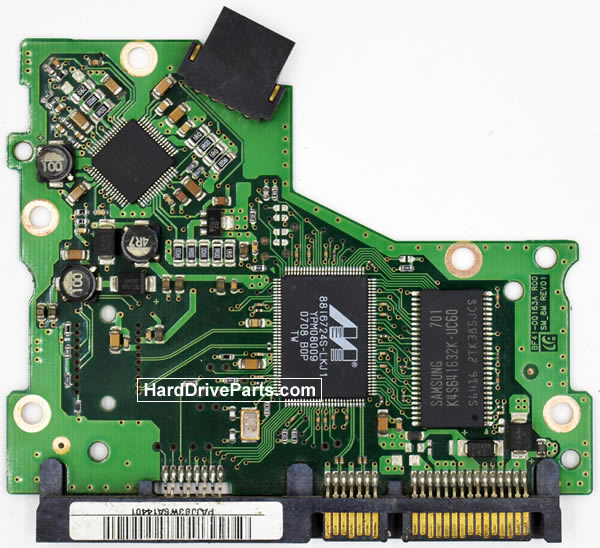 Samsung HD082GJ Festplatten Ersatzteile Platine BF41-00163A