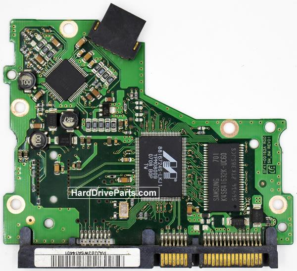 Samsung HD161HJ Festplatten Ersatzteile Platine BF41-00163A