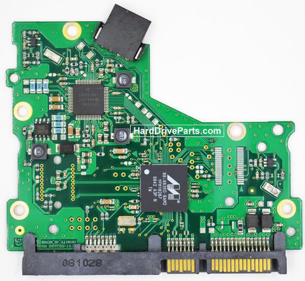 Samsung HD083GJ Festplatten Ersatzteile Platine BF41-00204B