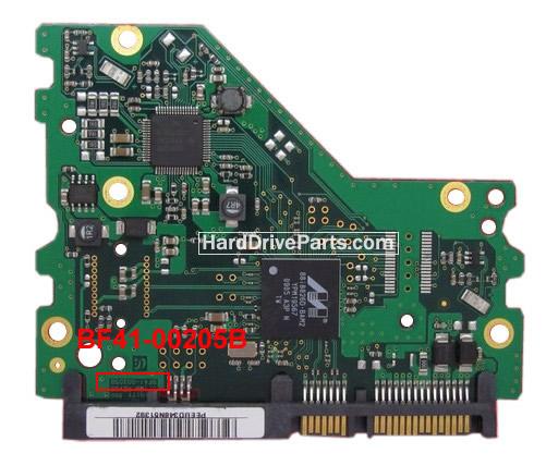 Samsung Festplattenelektronik PCB BF41-00205B