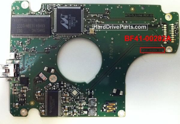 Samsung Festplattenelektronik PCB BF41-00282A 00