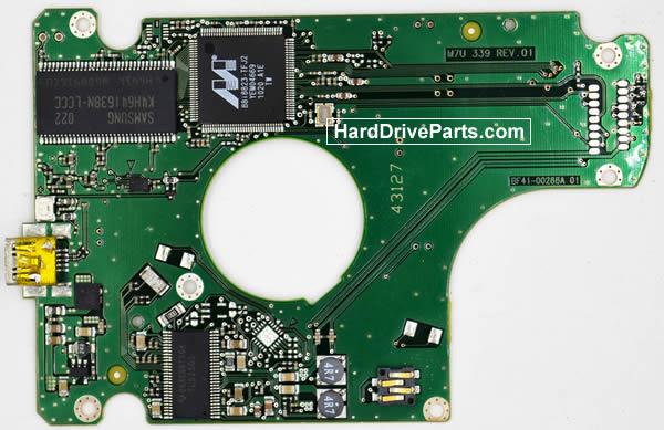 Samsung HM502JX Festplatten Ersatzteile Platine BF41-00288A