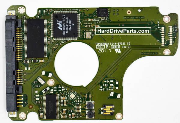 Samsung HN161GI Festplatten Ersatzteile Platine BF41-00291A