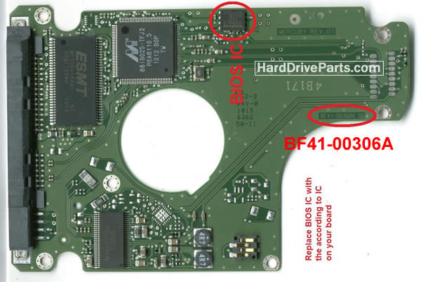HM321HL Samsung PCB Circuit Board BF41-00306A