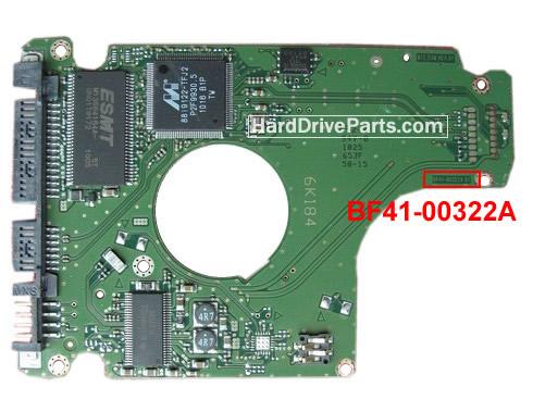 Samsung Festplattenelektronik PCB BF41-00322A 01