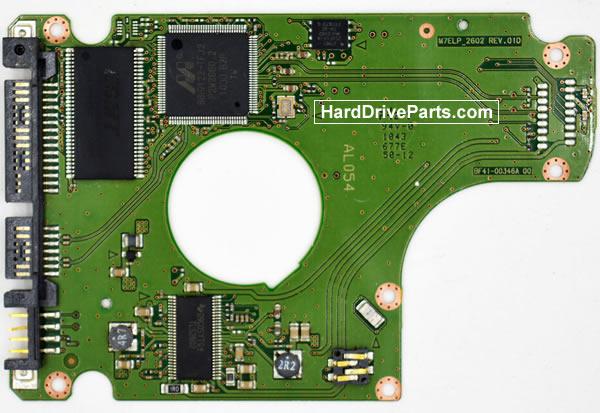 Samsung Festplattenelektronik PCB BF41-00346A