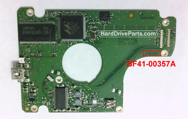 Samsung Festplattenelektronik PCB BF41-00357A 00