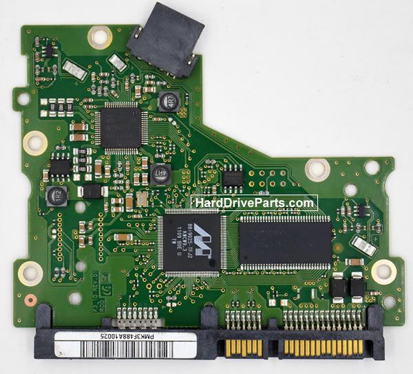 Samsung HD502HM Festplatten Ersatzteile Platine BF41-00358A