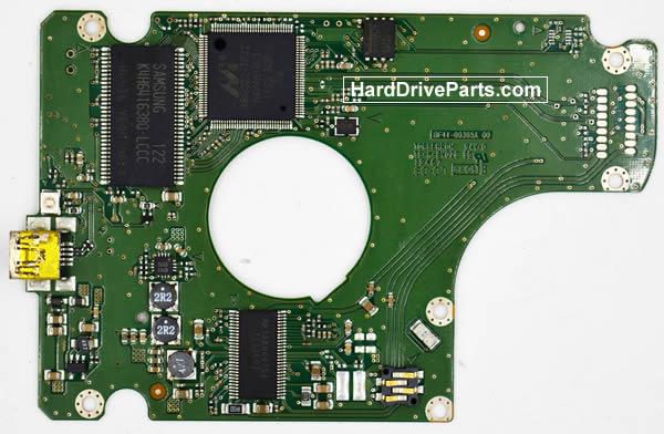 Samsung HN-M500XBB Festplatten Ersatzteile Platine BF41-00365A
