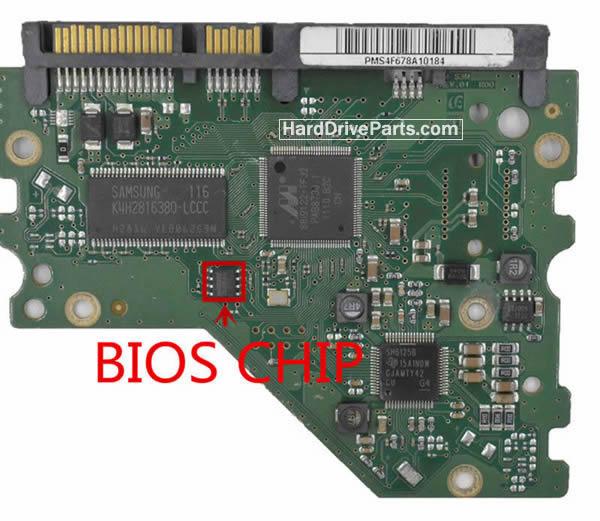 Samsung Festplattenelektronik PCB BF41-00377A 00