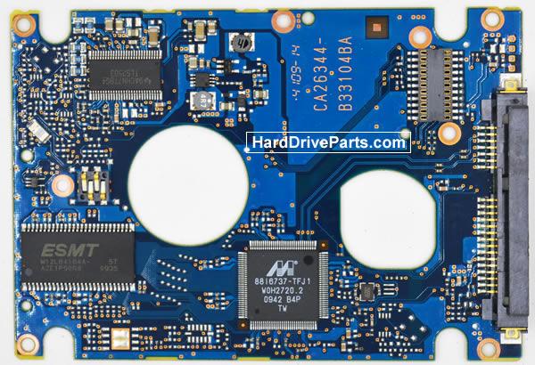 Fujitsu Festplattenelektronik PCB CA26344-B33104BA