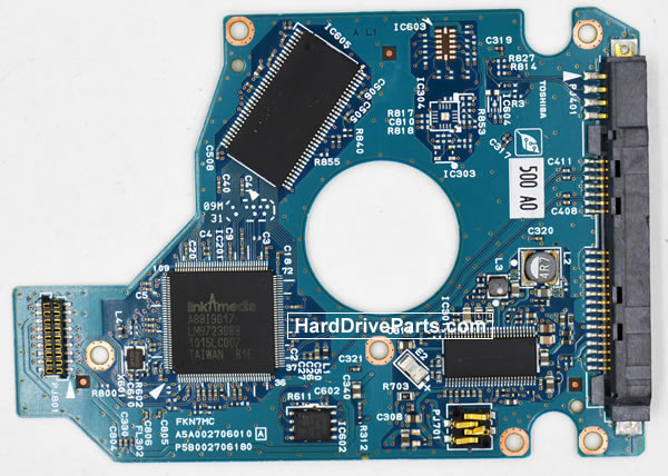 Toshiba MK2565GSXN Festplatten Ersatzteile Platine G002706A