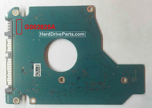 Toshiba Festplattenelektronik PCB G002825A