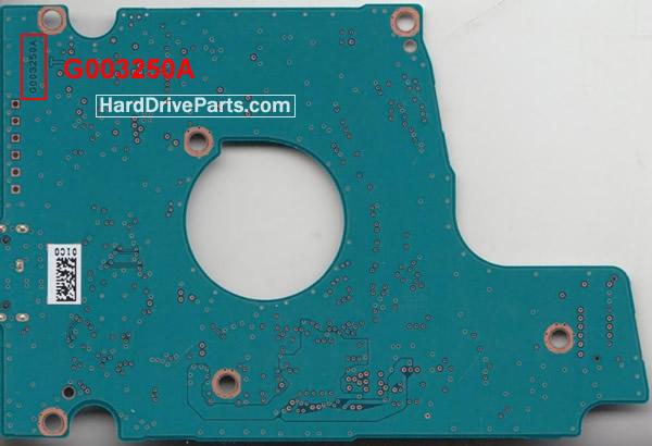 Toshiba Festplattenelektronik PCB G003250A