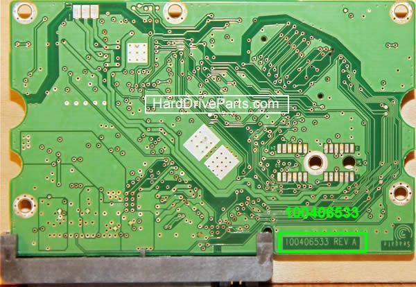 Seagate barracuda 7200.10 Festplatten Controller Tauschen