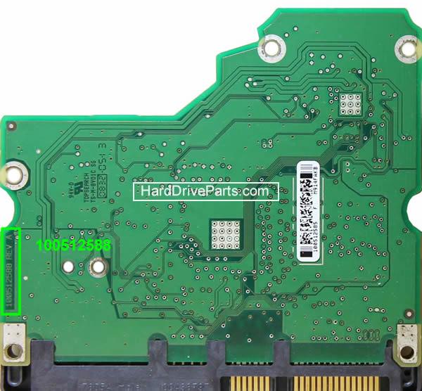 Seagate barracuda 7200.11 Festplatten Controller Tauschen