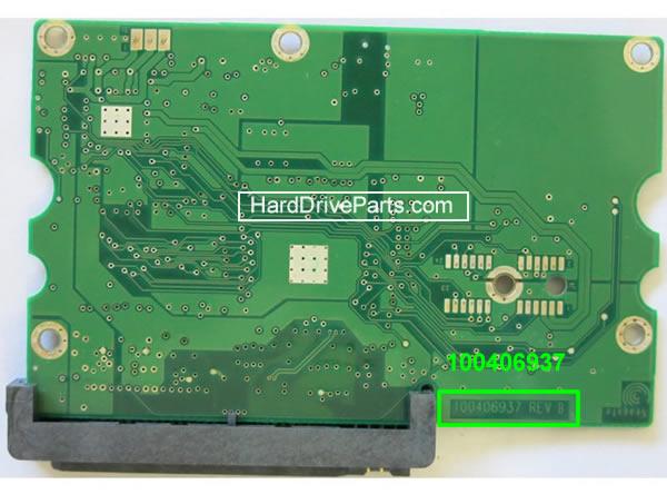 Seagate barracuda 7200.9 Festplatten Controller Tauschen