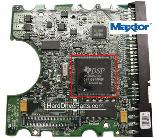 Maxtor Festplatte Elektronik Platine PCB