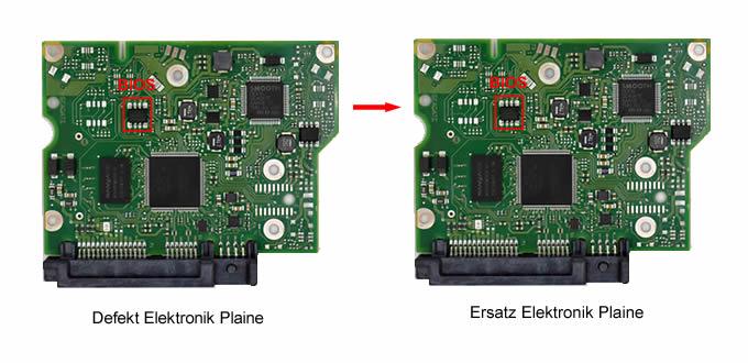 Festplatte Defekt Platine Tauschen - BIOS übertragen