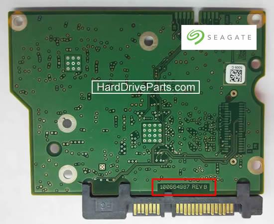 Seagate Festplatte Elektronik Platine PCB