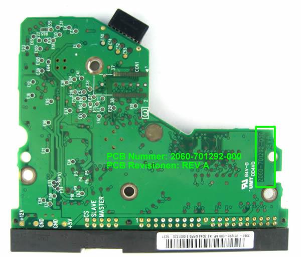 WD Festplatte Elektronik Controller Tauschen